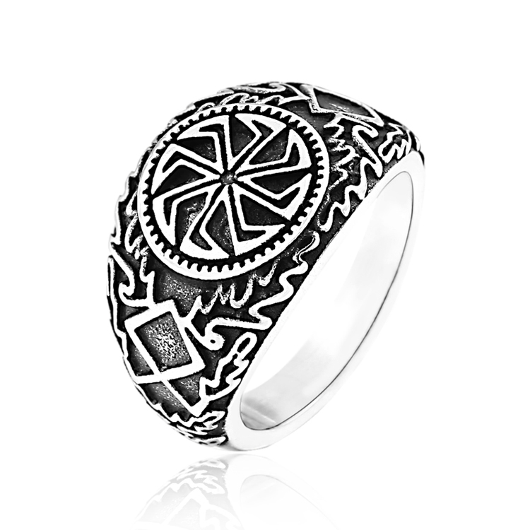 Ring Viking Kolovrat Sun
