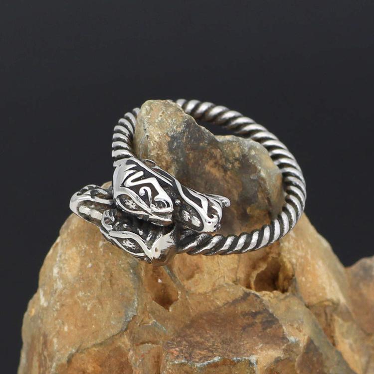 Ring Viking Dragon