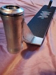 TSI Shred Sled Sparkcykel Deck, med headset & griptape
