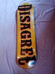 "Disagree Frank Vegas Logo 8.0"" Bräda"
