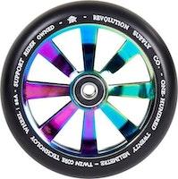 Revolution Supply Twin Core 120mm Hjul Komplett NeoChrome