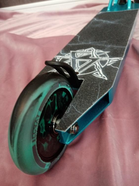 Turquoise Lightning Custom