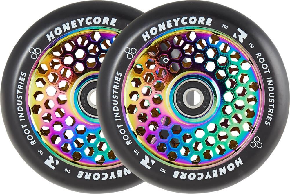 Root Honeycore Svart Komplett 110mm Hjul 2-pack
