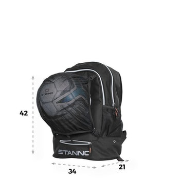 Backpack with ballnet