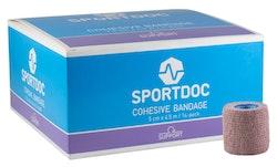 Cohesive Bandage 5cm x 4,5m. 16-pack
