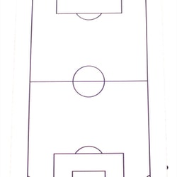 Whiteboard Fotboll (1-pack)