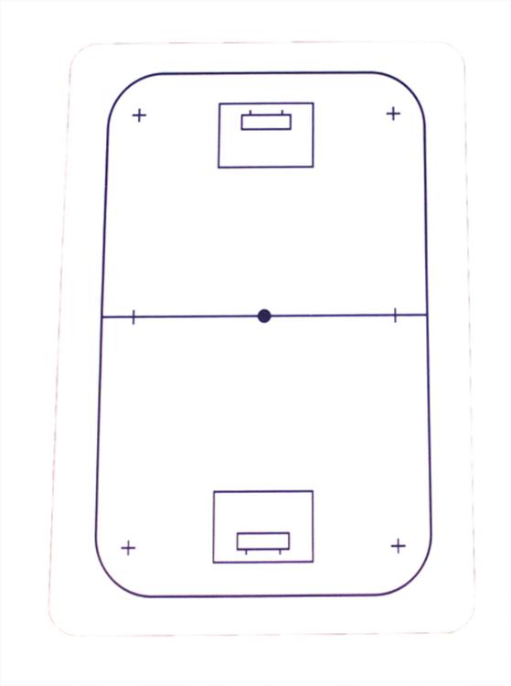 Whiteboard för Innebandy (1-pack)