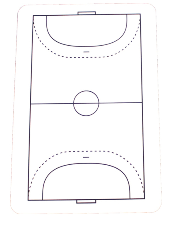 Playing Field for 38003 Handball. 1-pack