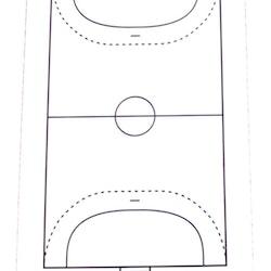 Whiteboard för Handboll (1-pack)