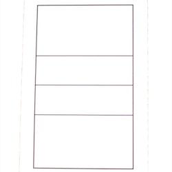 Whiteboard för Volleyboll (1-pack)