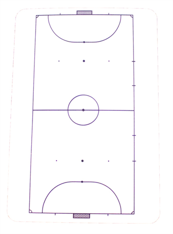 Whiteboard för Futsal (1-pack)