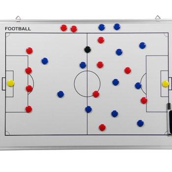 Whiteboard 90 x 60 cm Fotboll