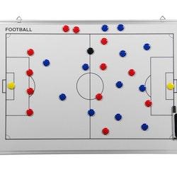 Whiteboard 45 x 30 cm Fotboll
