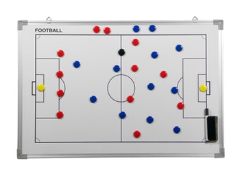 Whiteboard 45 x 30 cm Football