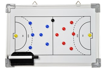 Whiteboard Handball 45 cm x 30 cm