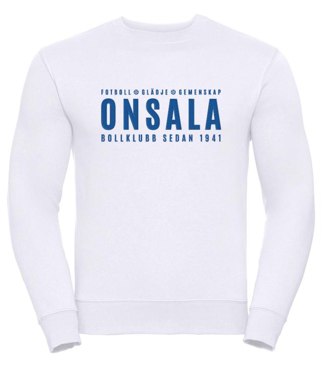 Onsala sweatshirt herr vit