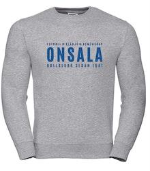 Onsala sweatshirt herr grå