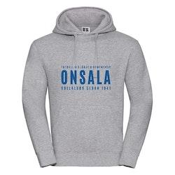 Onsala hoodie herr grå