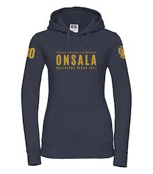 Onsala hoodie dam jubileum mörkblå