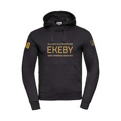 Ekeby IF hoodie herr jubileum svart