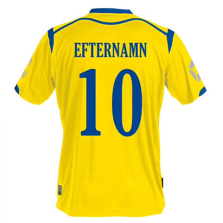 Heja Sverige - Stanno Torino Matchtröja- Välj eget tryck