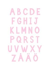 Poster Alfabetet
