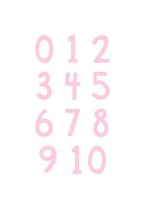 Poster Siffror