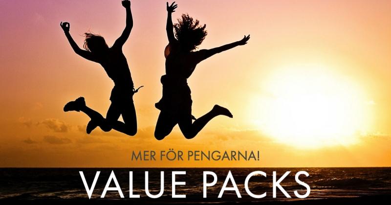 Value packs!