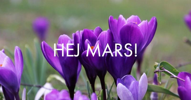Välkommen mars!