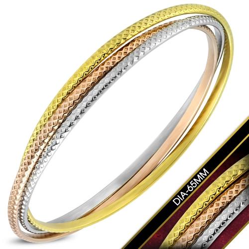Armband med tre ringar