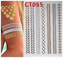 Armband stick on tatuering