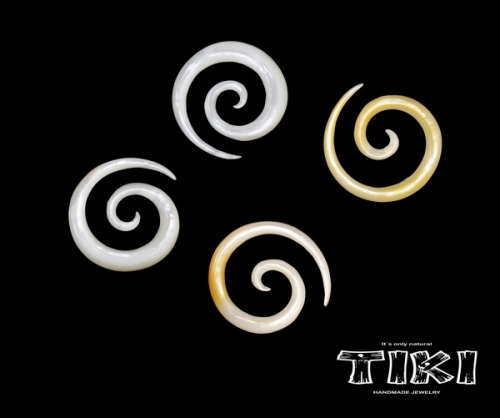 Tiki spiral i Mother of pearl