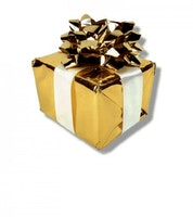 Hemliga paketet med smycken till näsa
