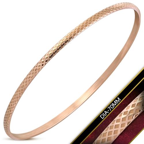 Stelt armband med guldplätering