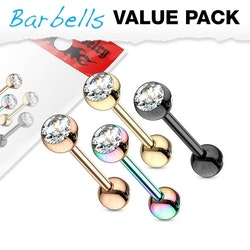 4-pack Barbeller