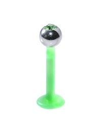 Grön bioflex labret