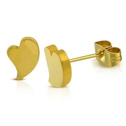 Örhängen med hjärta