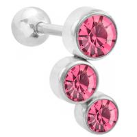 Tragus trippel rosa