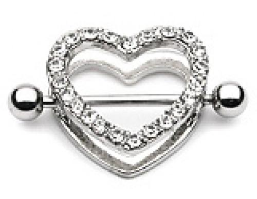Bröstsköld hjärta