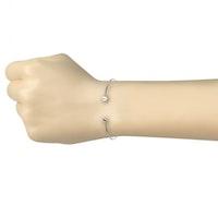 Stelt armband med pärla