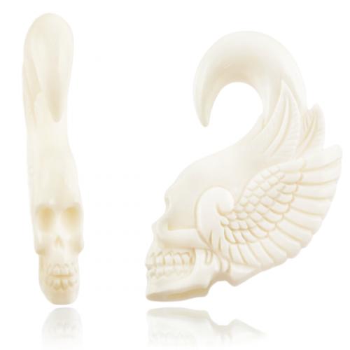 Tiki bone skull