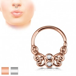 Septum med ornament