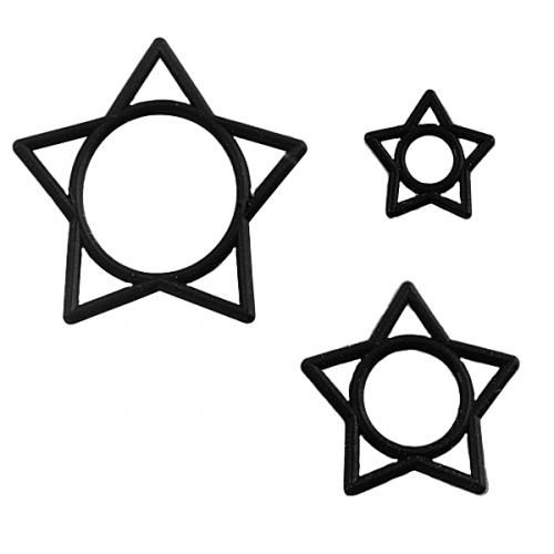 O-ring med stjärna