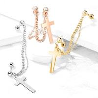 Dubbel helix med kors