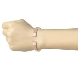 Armband med stålflätning