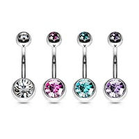 Navelpiercing 4 pack
