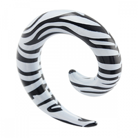 Zebra-randig spiral