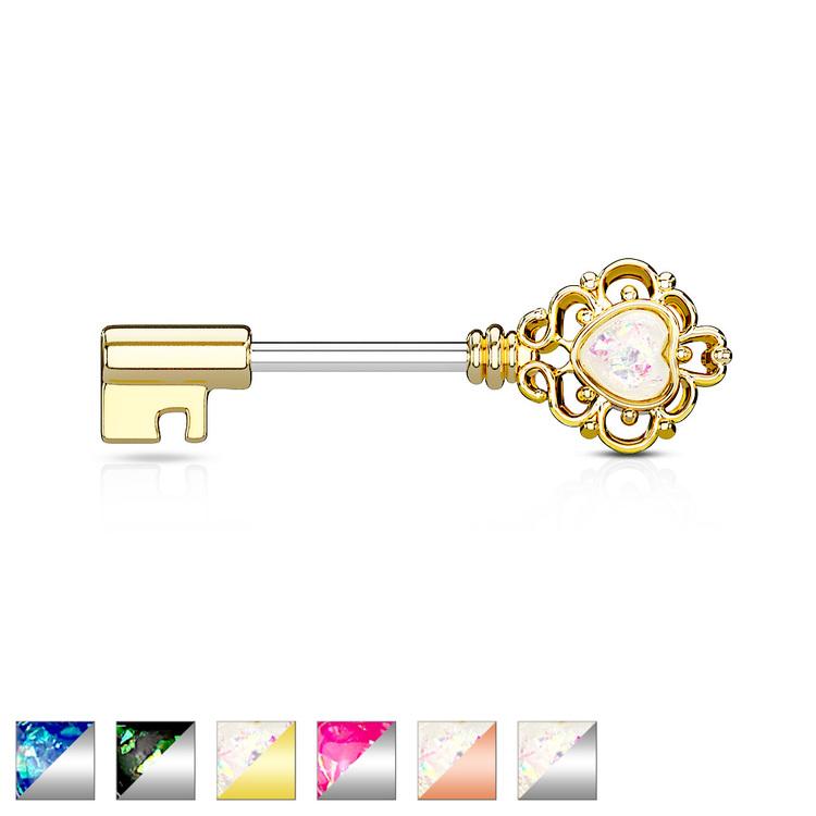 Bröstsköld med nyckel