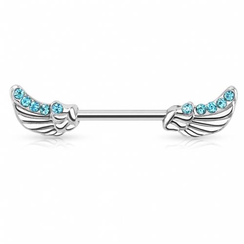 Bröstbarbell med vingar