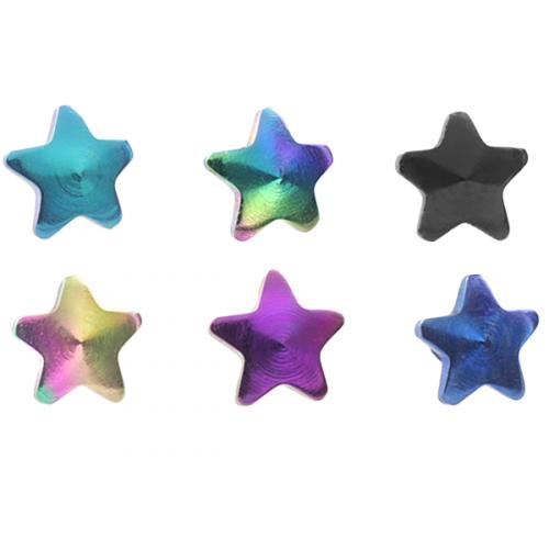Dermal Anchor topp med stjärna
